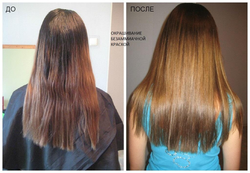 Как часто можно тонировать волосы безаммиачной краской
